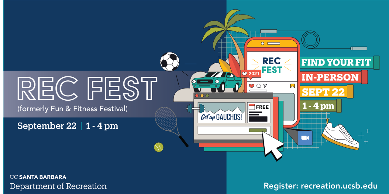 Rec Fest (formerly the Fun & Fitness Festival) Event Logo
