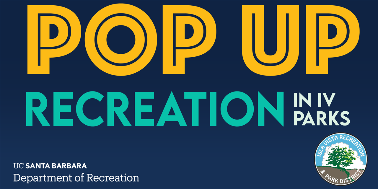 FREE | Cornhole Competition | Pop Up Recreation in IV Parks Event Logo