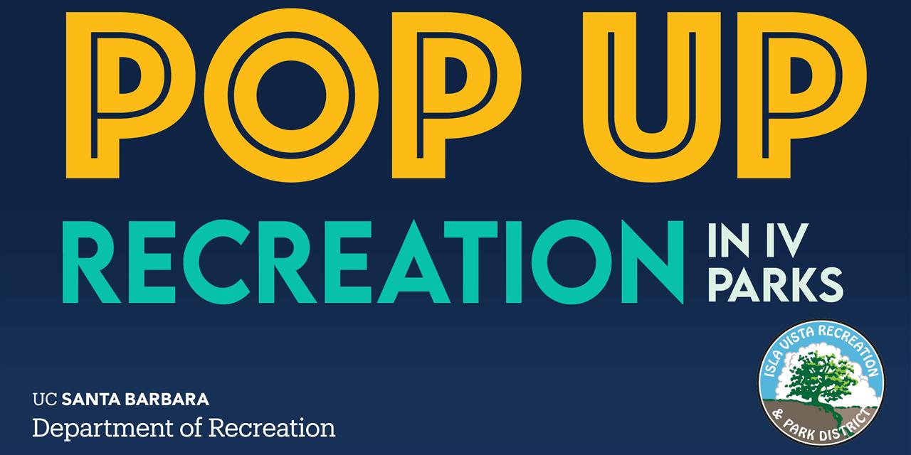 FREE   Bouldering/Slacklining   Pop up Recreation in IV Parks Event Logo