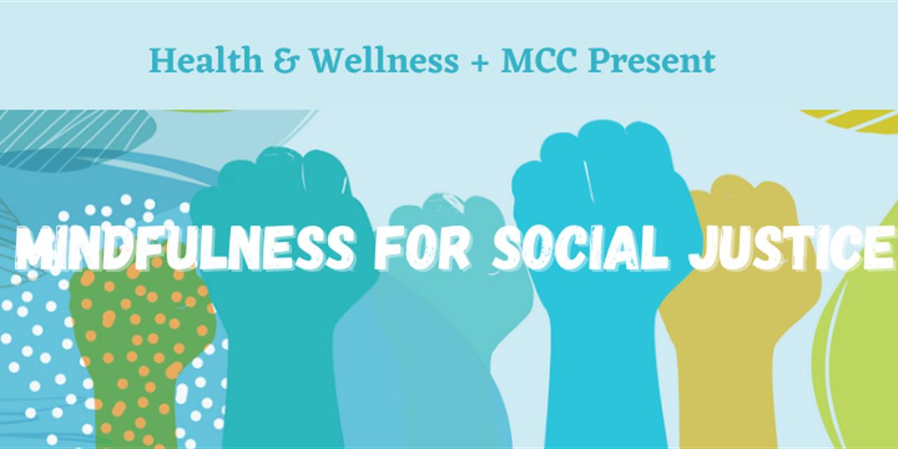 Mindfulness for Social Justice Event Logo