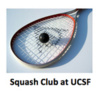 Squash Club at UCSF's logo