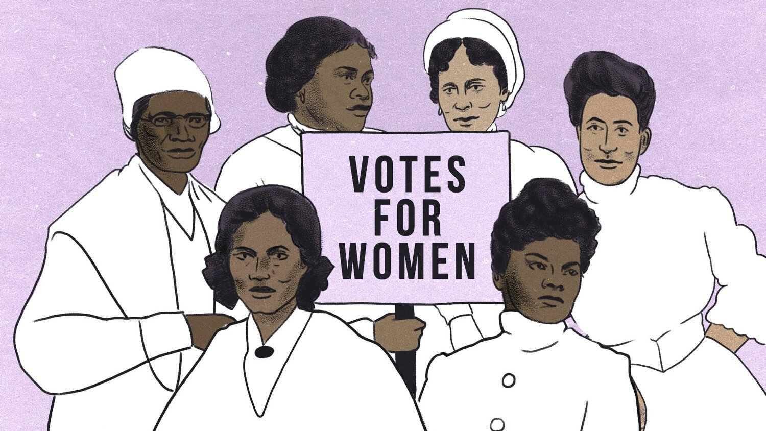 Votes for Women Illustration by Alex Gilbeaux