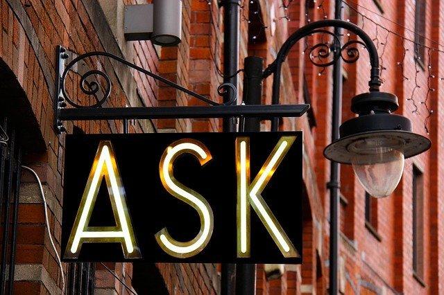 Ask lightpole