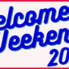2020 Welcome Weekend's logo