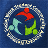 Social Work Student Community Advocacy Network's logo
