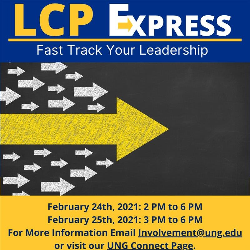 LCP Express: Fast track your leadership - February 24, 2021 from 2:00 p.m. to 6:00 p.m. and February 24, 2021 from 3:00 p.m. to 6:00 p.m.