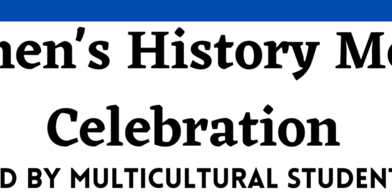 MSA Women's History Month Celebration Event Logo