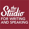The Studio for Writing and Speaking's logo