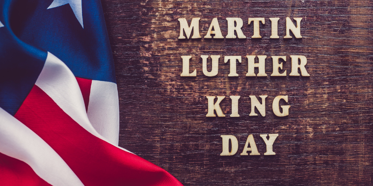 Martin Luther King Jr. Day (No Classes) Event Logo
