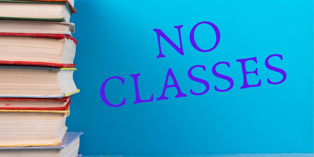 Break—no classes Event Logo