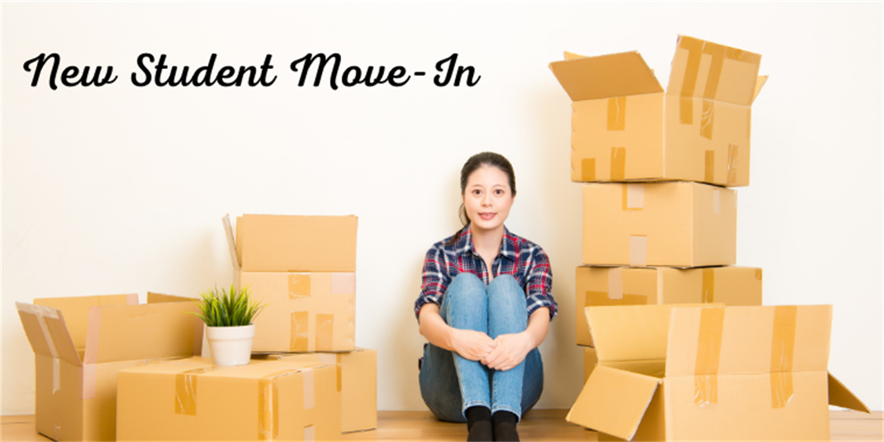 New Student Move-in Event Logo