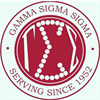 Gamma Sigma Sigma National Service Sorority's logo