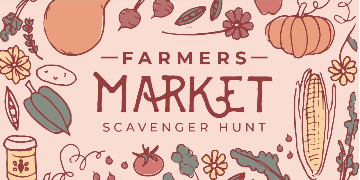 Farmers' Market Scavenger Hunt Event Logo