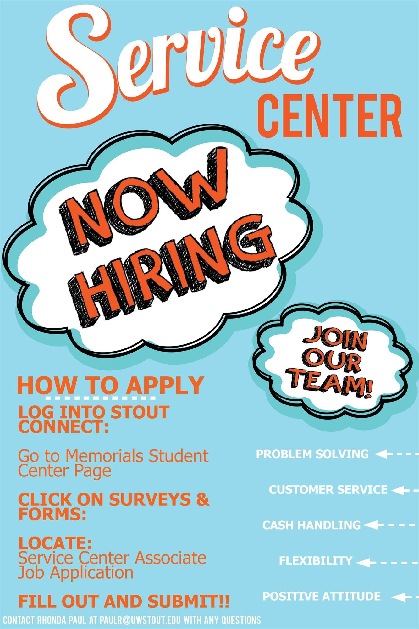 MSC Service Center Hiring