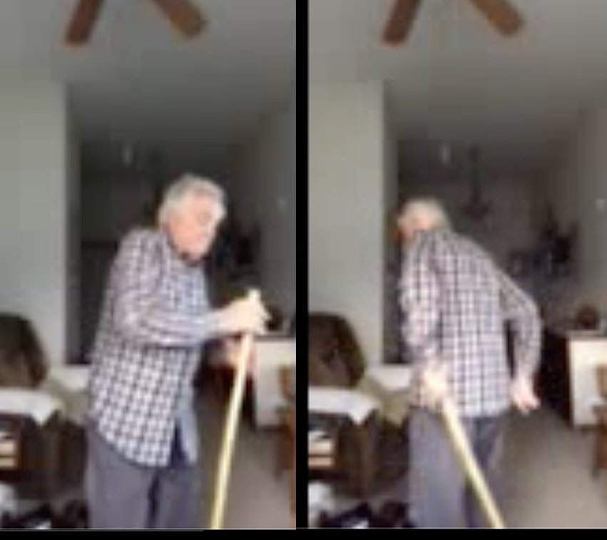 82 year old man dancing