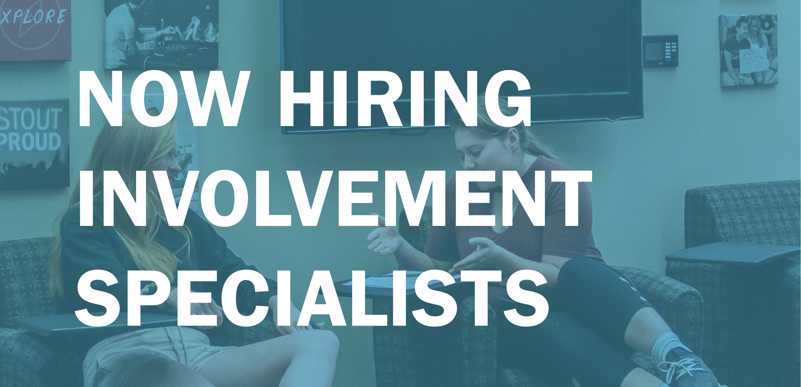 Now Hiring Involvement Specialists