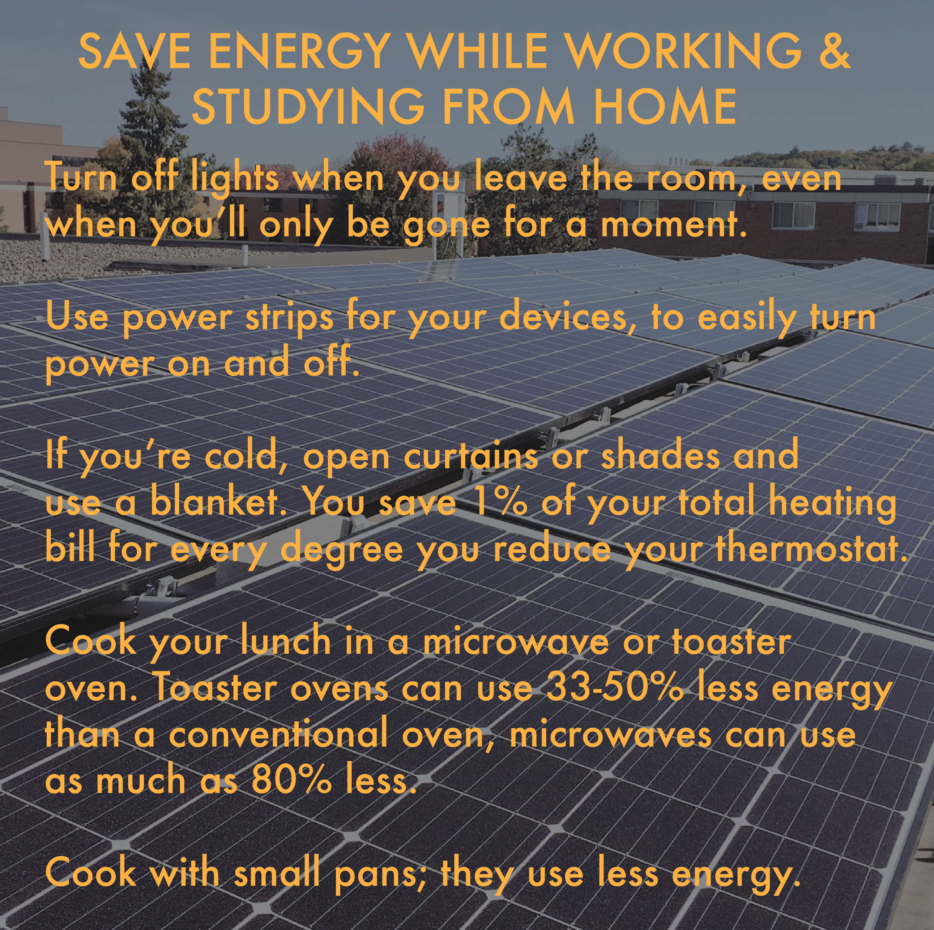Saving Energy at Home Tips