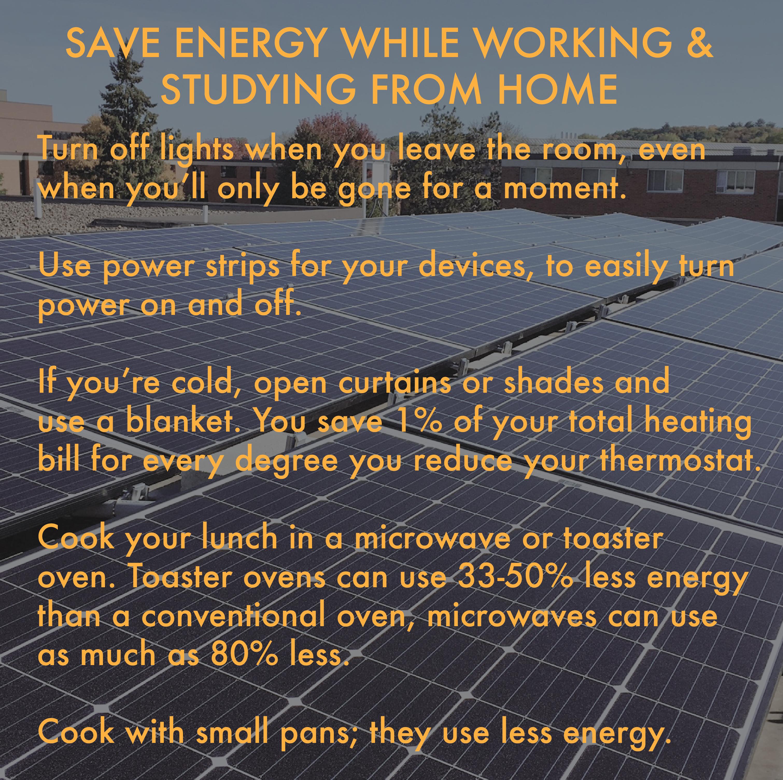 Saving Energy at Home Tips