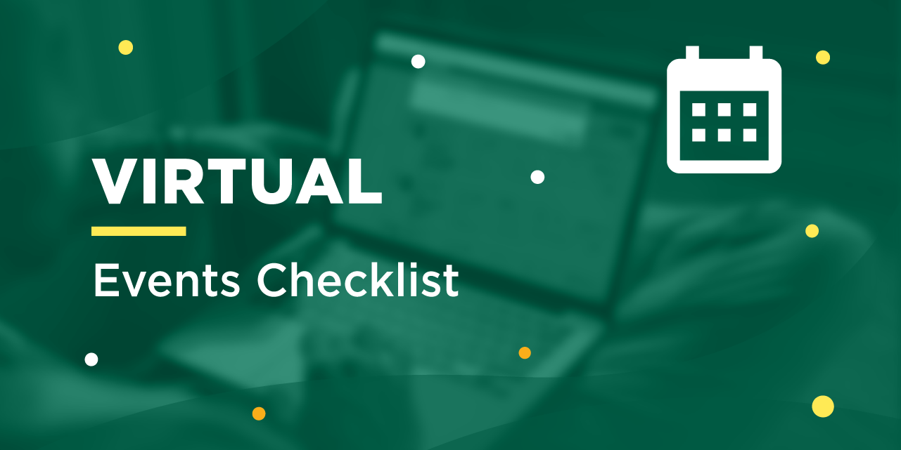 Virtual Events Checklist