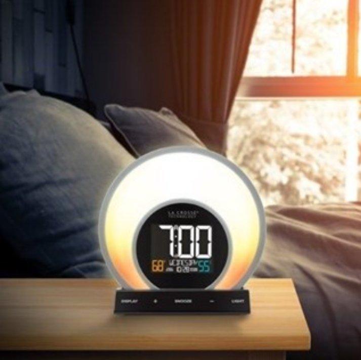 La Crosse Technology Soluna Light Alarm Clock⠀