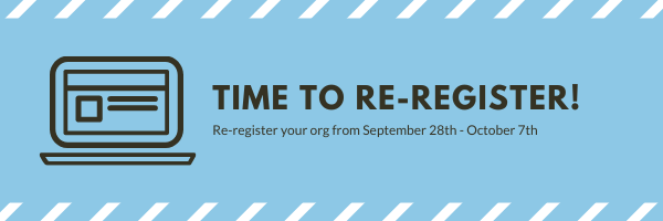 Time to Re-Register