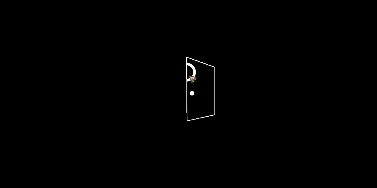 Virtual Qube Open Door Event Logo