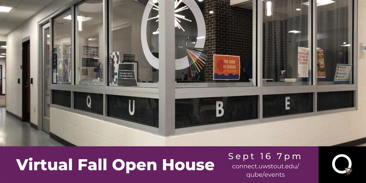 Virtual Qube Open House Event Logo