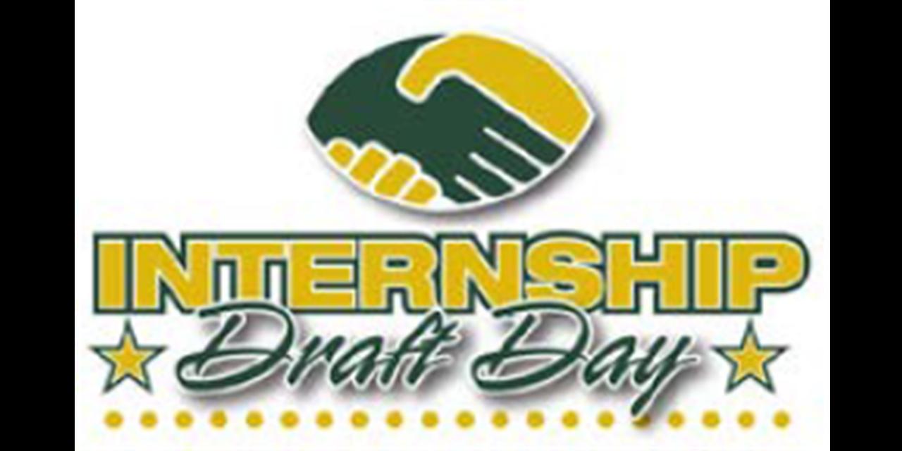 Internship Draft Day Event Logo