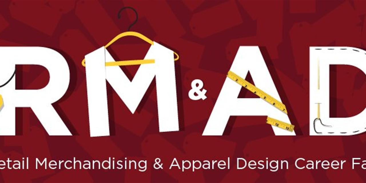 Retail Merchandising & Apparel Design Career Fair (University of Minnesota) Event Logo