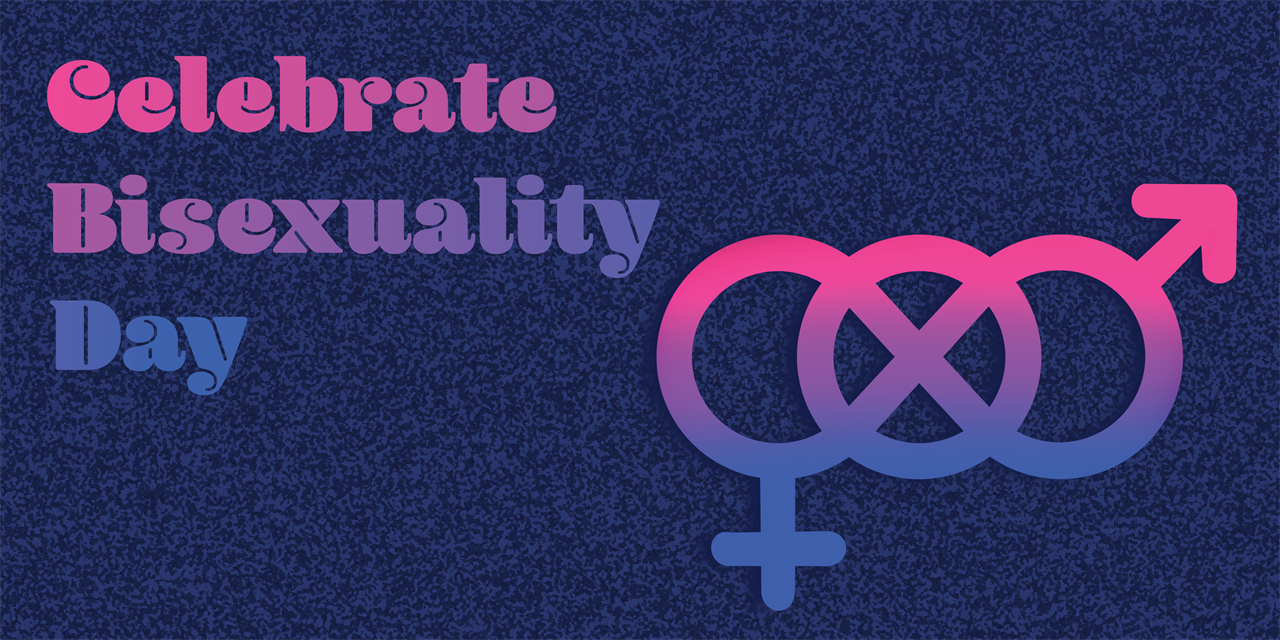 Celebrate Bisexuality Day Event Logo