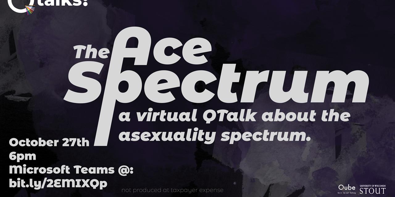 Q Talks: The Ace Spectrum Event Logo
