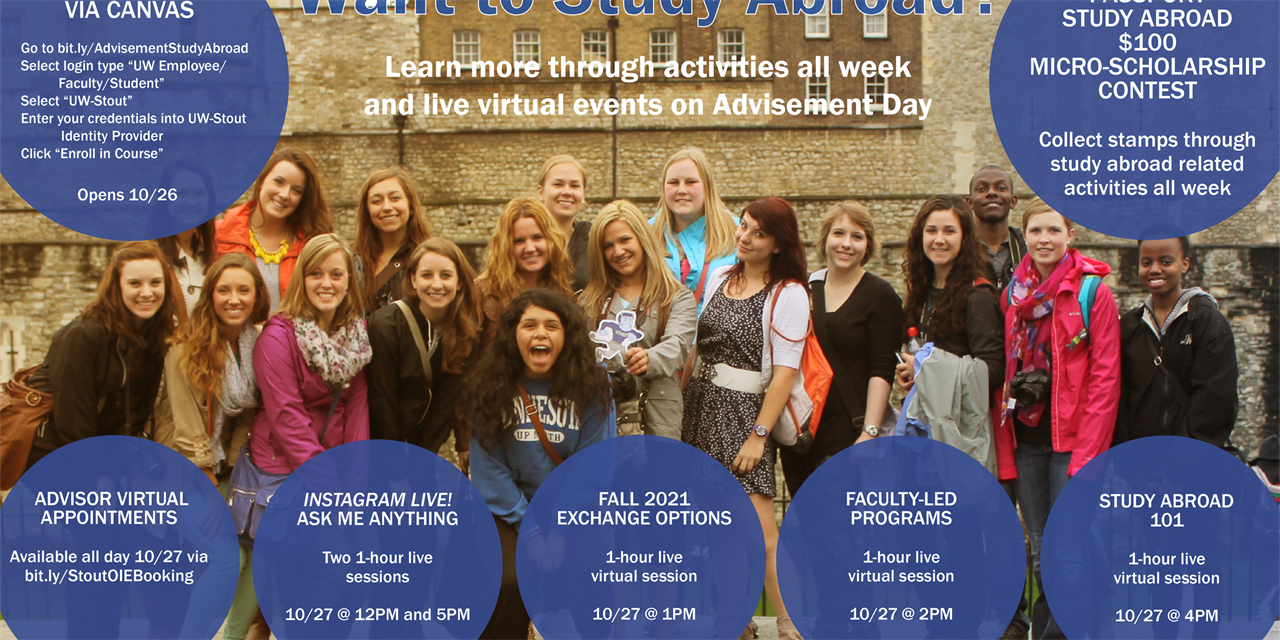 Advisement Day Study Abroad Events Event Logo