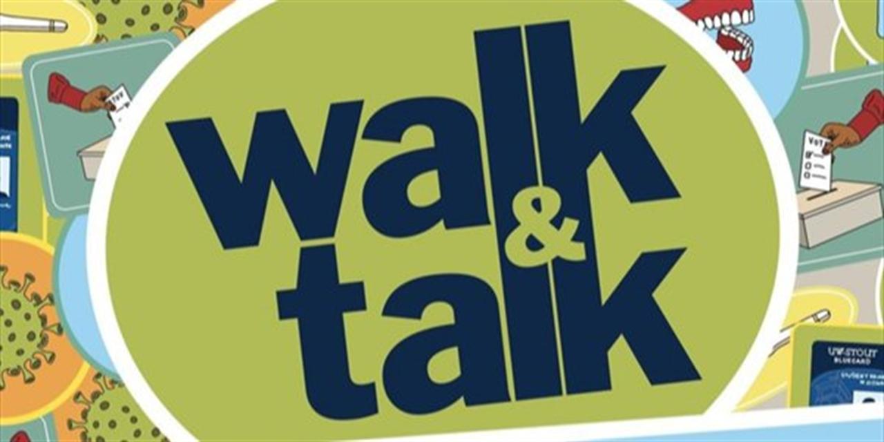 Walk & Talk Event Logo