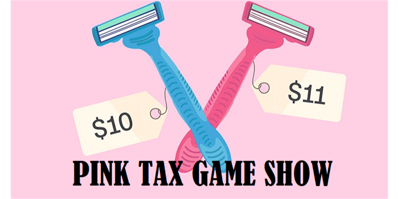 60 Seconds of Civics - Pink Tax Game Show Event Logo