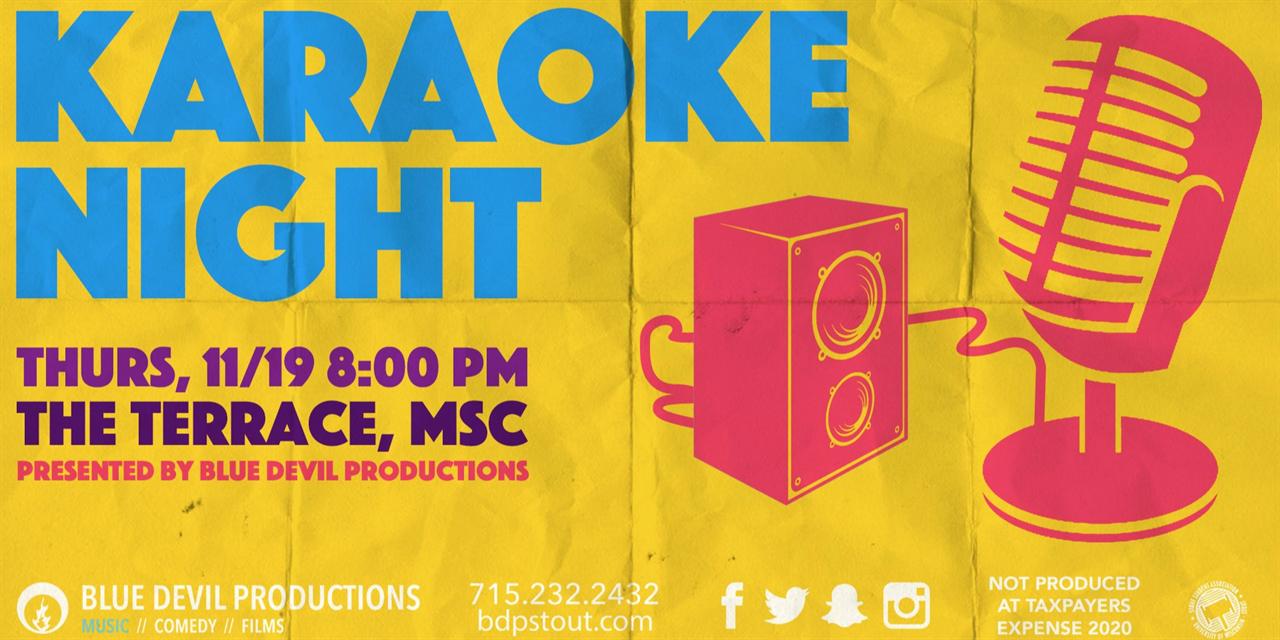 Karaoke Event Logo