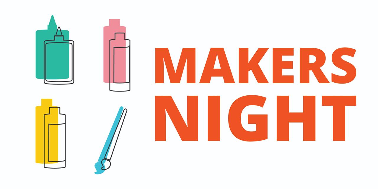 Makers Night   Bullet Journaling Event Logo