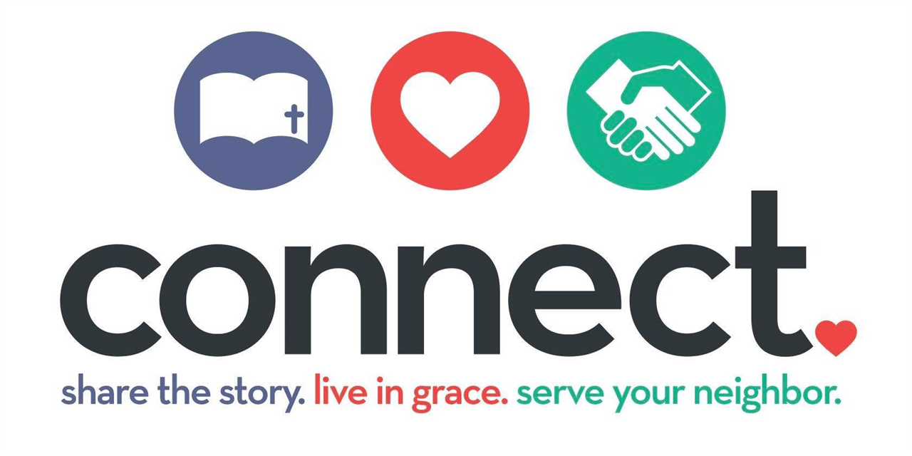Lutheran Campus Ministry Connect Night Event Logo