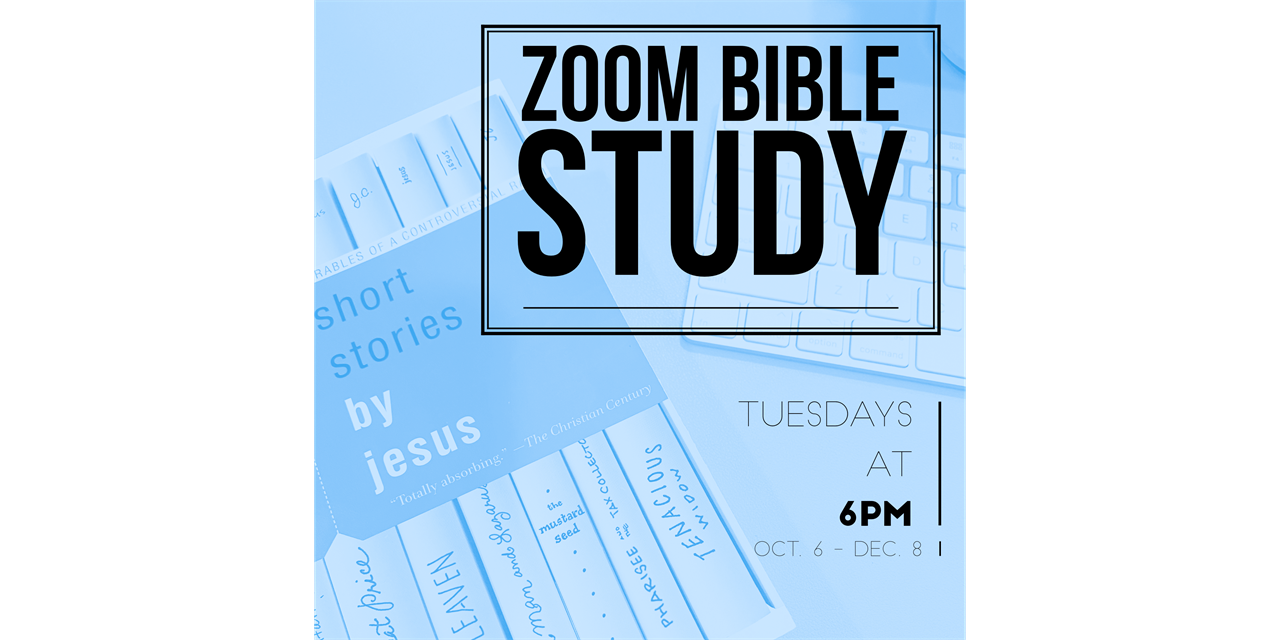 Virtual Bible Study with LCM Event Logo