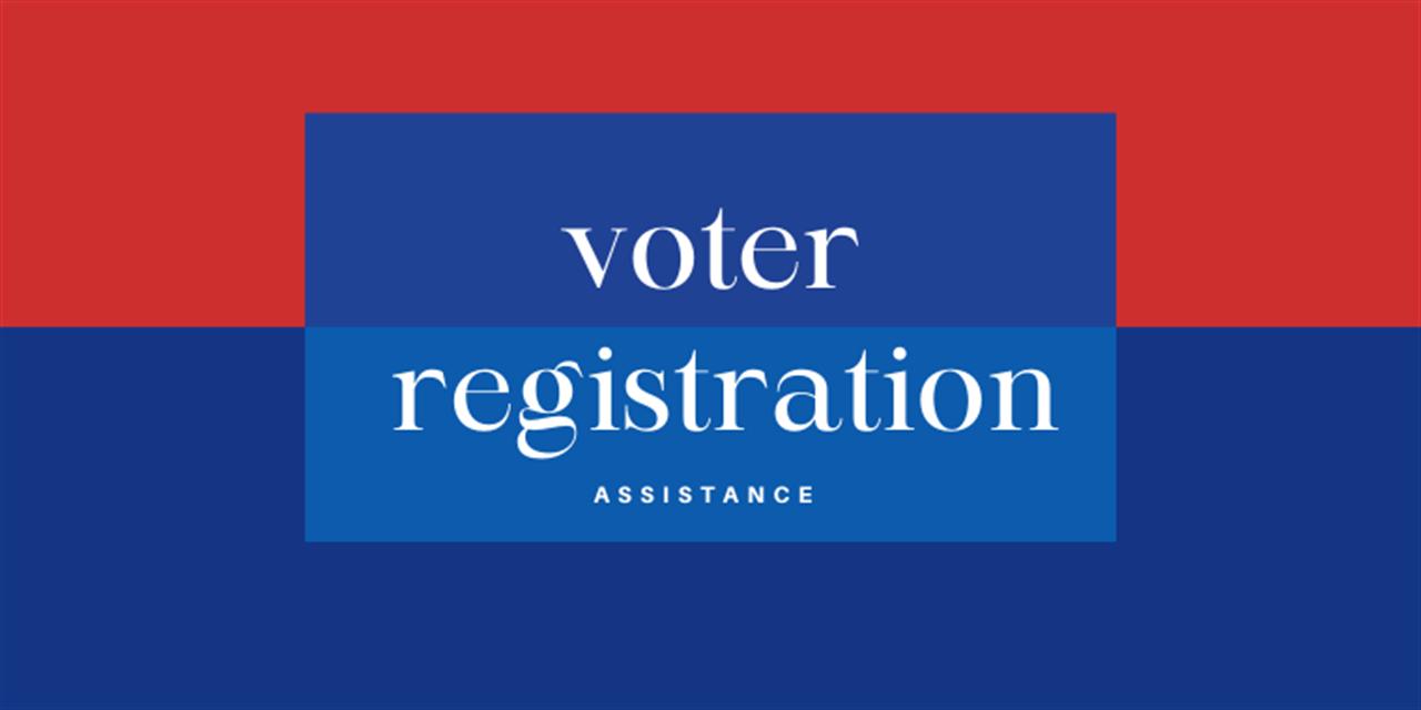 Virtual Voter Registration Assistance Event Logo