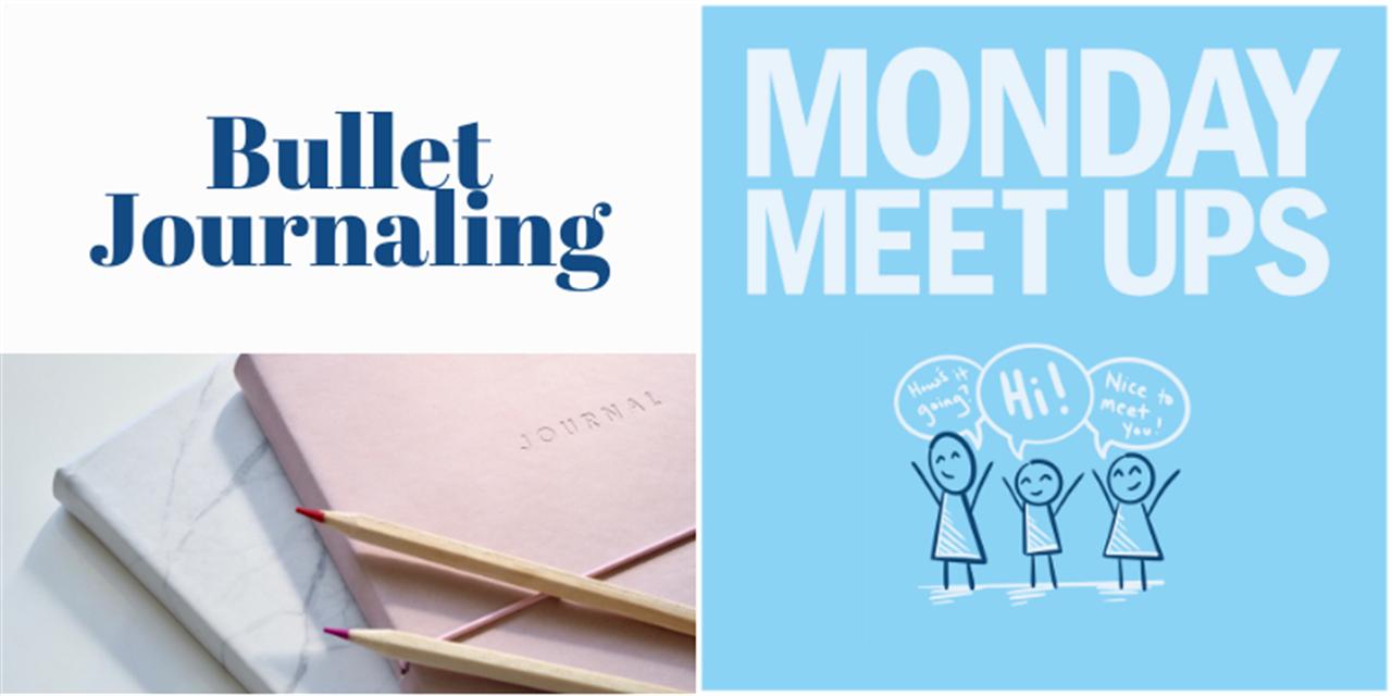 Monday Meet Ups | Bullet Journaling Event Logo