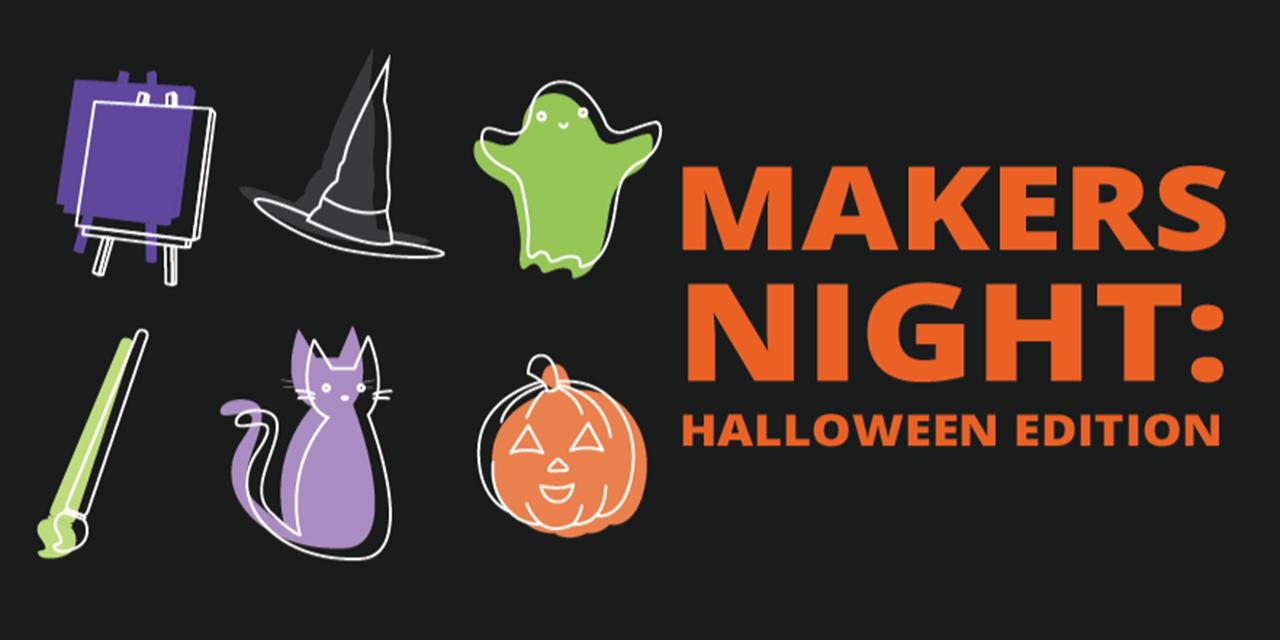 Makers Night   Halloween Edition Event Logo