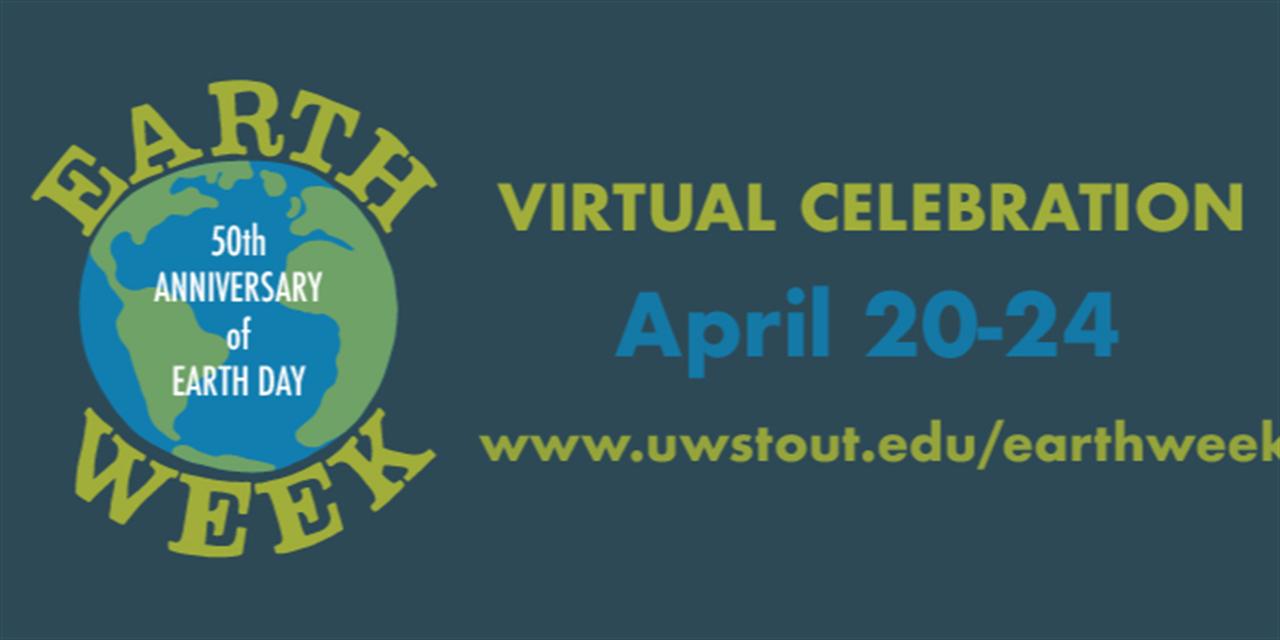 Earth Week Event Logo