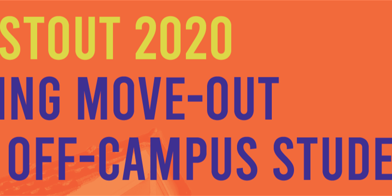 Spring Move-Out for Off-Campus Students Event Logo