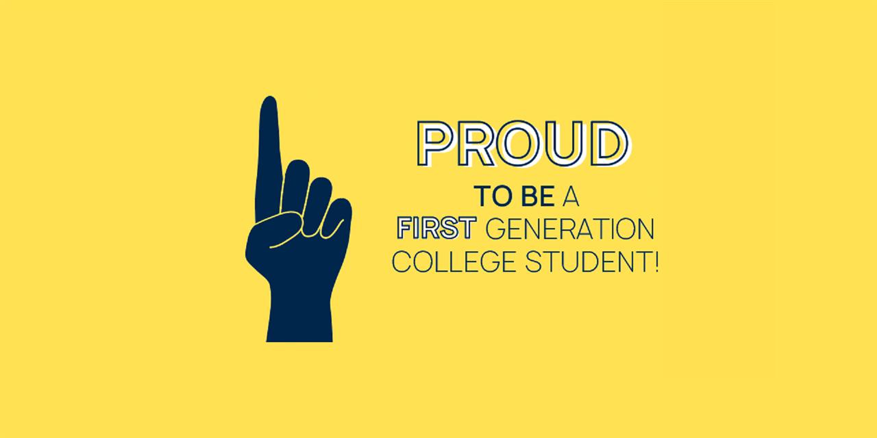 2020 First-Generation Celebration Event Logo