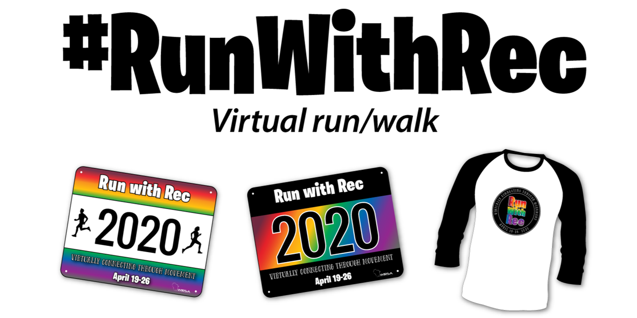 Run with Rec Virtual Run/Walk Event Logo