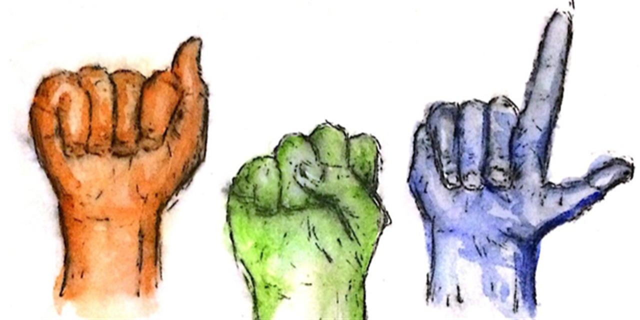 ASL Club Meeting Event Logo