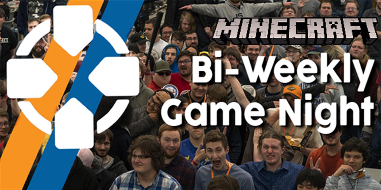 PONG Minecraft Game night! Event Logo