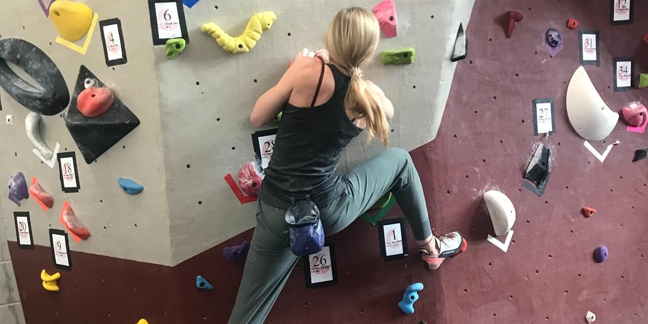 Climbing Club Virtual Meeting: Skills, Technique, and Training Event Logo