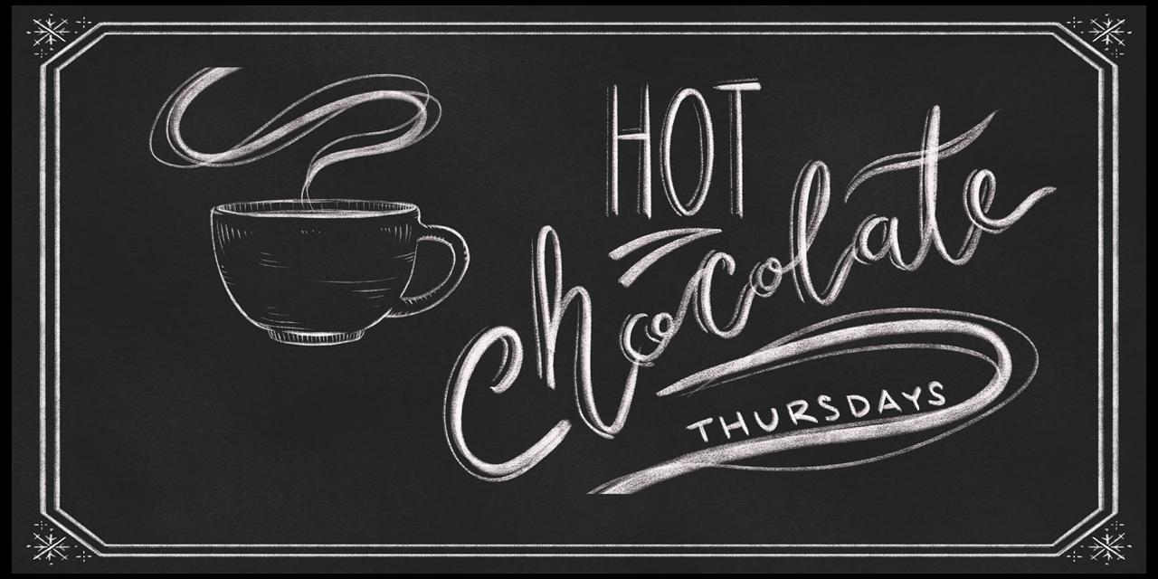 Hot Chocolate Thursdays Event Logo