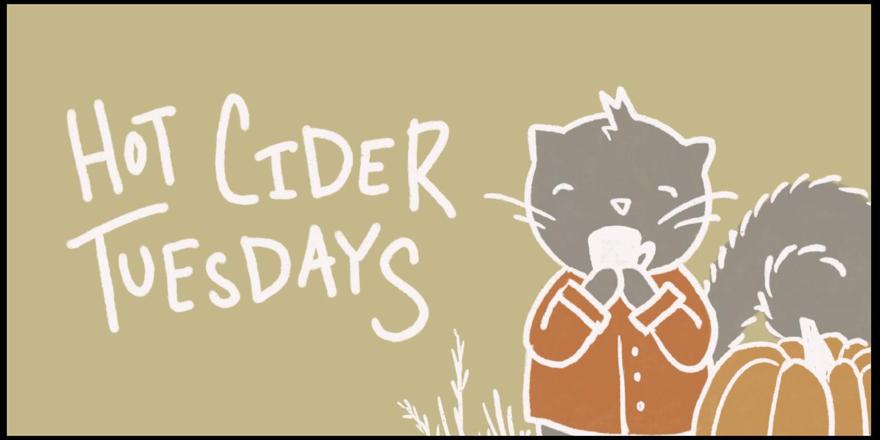 Hot Cider Tuesdays Event Logo